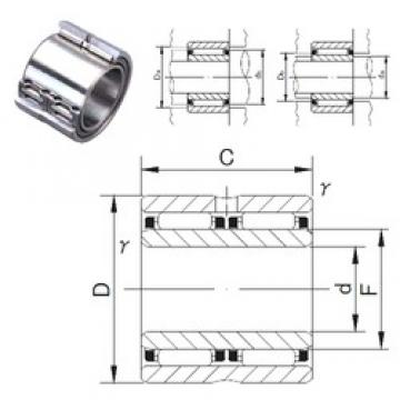 50 mm x 68 mm x 40 mm  JNS NAFW 506840 needle roller bearings