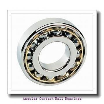 80 mm x 170 mm x 39 mm  NSK 7316 B angular contact ball bearings
