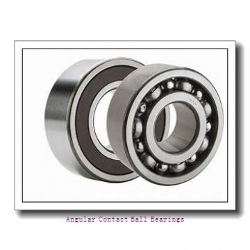 85 mm x 150 mm x 28 mm  SKF QJ217MA angular contact ball bearings