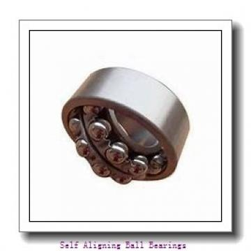 35 mm x 72 mm x 23 mm  ISO 2207K-2RS self aligning ball bearings