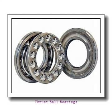 90 mm x 225 mm x 54 mm  SKF NU 418 M thrust ball bearings