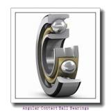 AST H7028C angular contact ball bearings